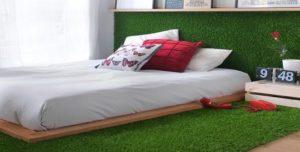 cesped artificial dormitorio