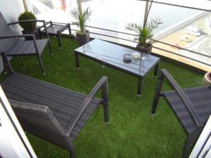 terrazas balcones cesped artificial